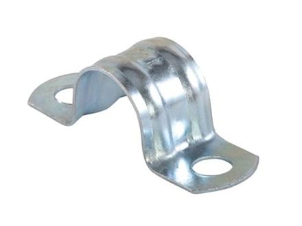 Скоба для фиксации трубы с двумя проушинами