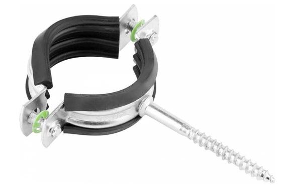 Металлически хомут для фиксации трубопровода