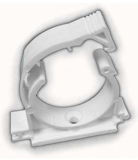 Крепежный элемент для трубопроводов с защелкой – фиксатором