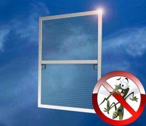 Приспособление для защиты жилого помещения от насекомых