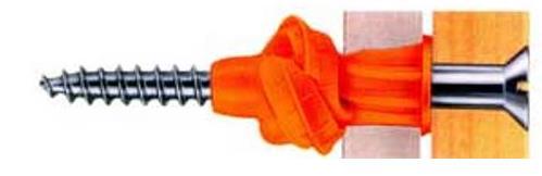 Скручивающийся пластиковый дюбель для гипсокартона – интересное и эффективное решение, подкрепленное надежностью Фишер
