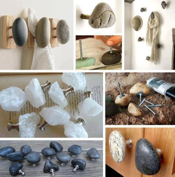 Разнообразие крючков из камней поражает