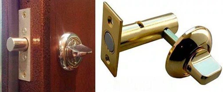 Блокирующее устройство, установленное внутрь двери