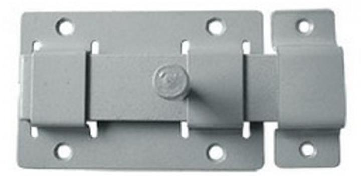 Простейший запорный механизм для дверей