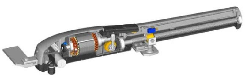 Привод, приводимый в движение двигателем