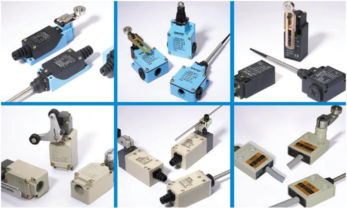 Разновидности концевых выключателей