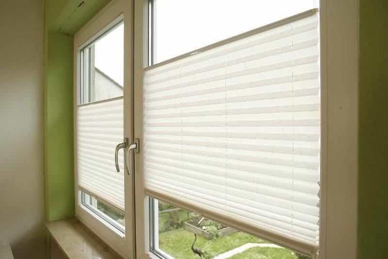 Защитные шторы из плиссированной бумаги