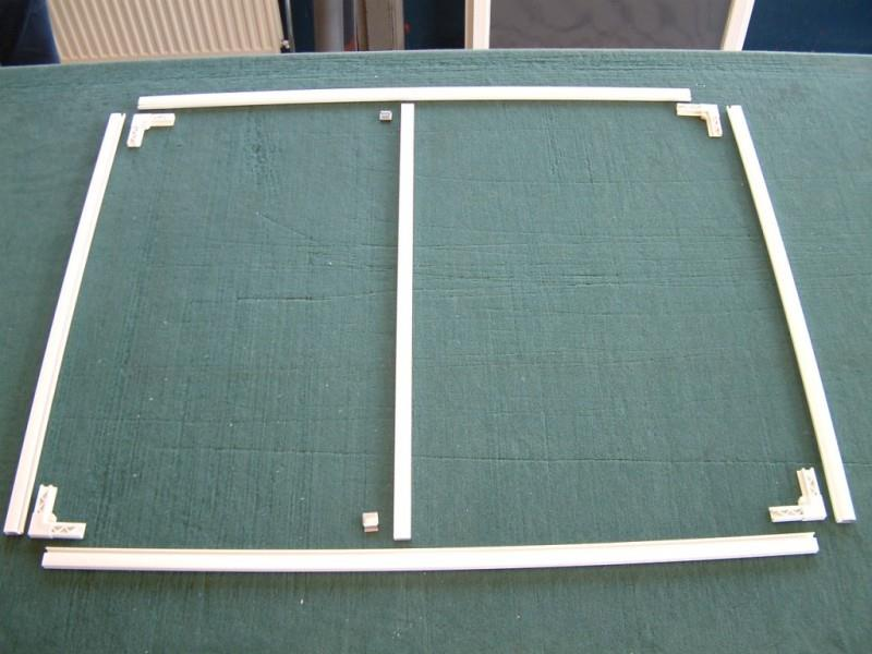 Изготовление каркаса противомоскитной сетки со специальными уголками