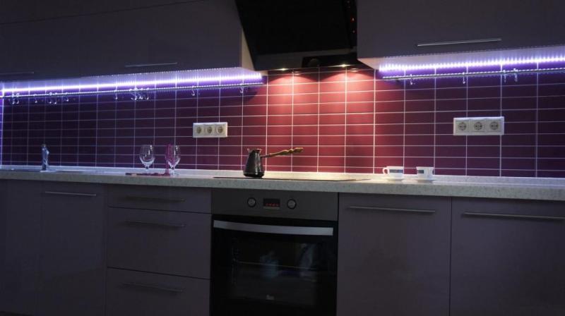 Освещение с целью декорирования помещения