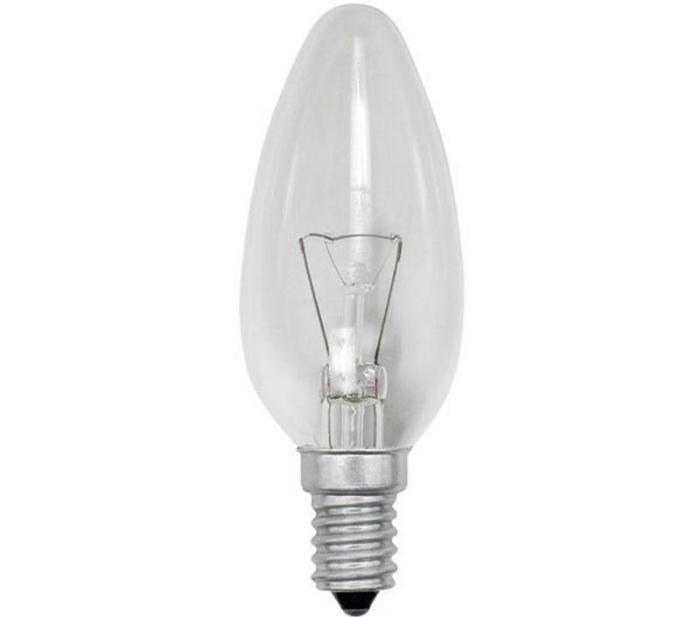Обычная лампа накаливания