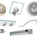 Виды мебельных светильников