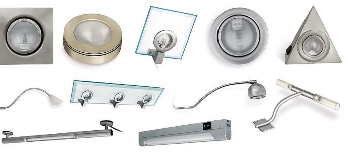 Осветительное оборудование для мебели