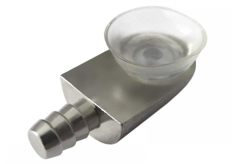 Элемент крепления с фиксацией стекла на присоску