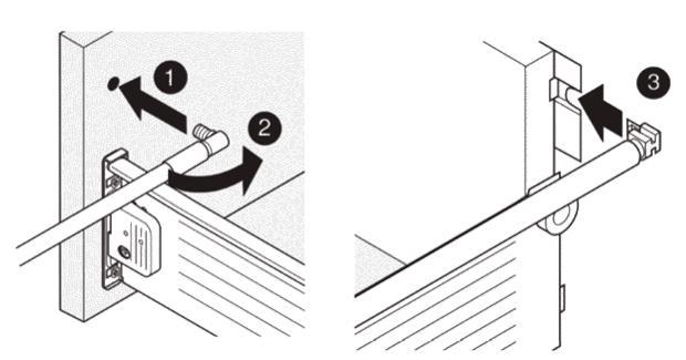 Схема монтажа рейлингов