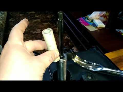Фиксация газлифта отрезом трубы