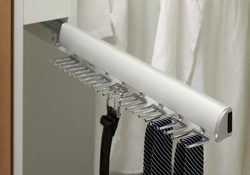 Отдельный держатель для ремней и галстуков