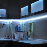 Делаем на кухне светодиодную подсветку