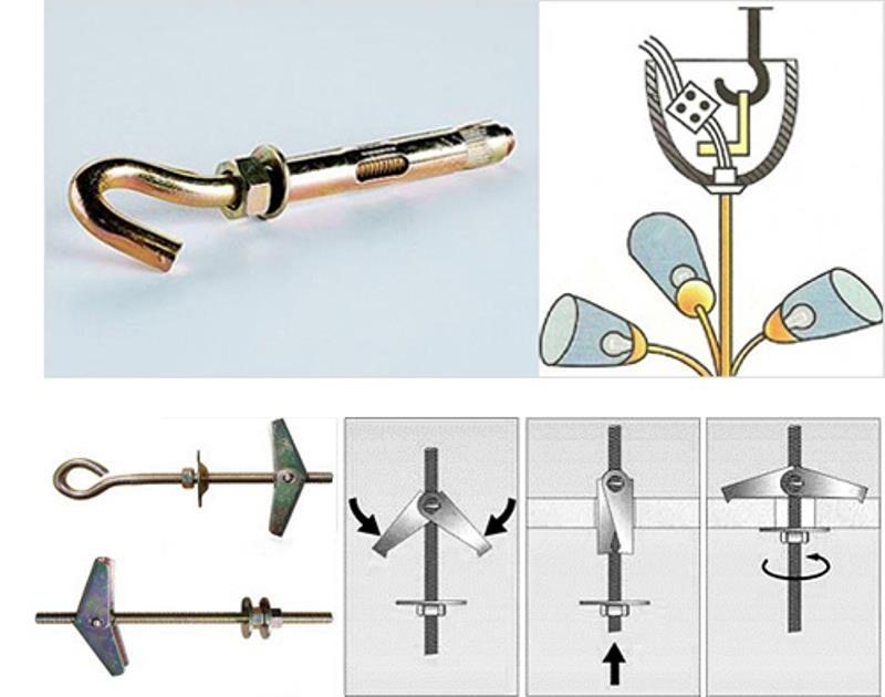 Крюки для люстр