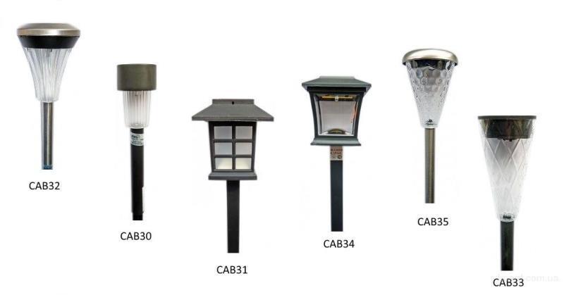 Фонарики и световые столбы