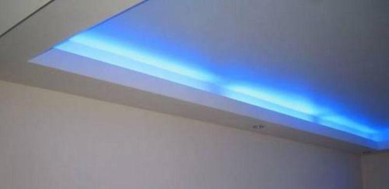 Подсветка лампами